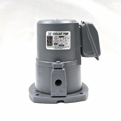 "1/8 HP Cast Iron Suction-type Coolant Pump, 220V/440V, 3PH, 3/8"" outlet, YC"