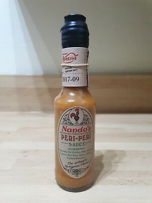 Extremely Rare Nando's Collectors Item: Short Run Limited Edition Sauce Bottle
