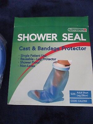 Waterproof Seal Adult Cast Bandage Protector Cover For Leg - Pharmate - New