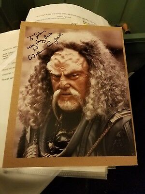 William Campbell Star Trek In-Person Signed