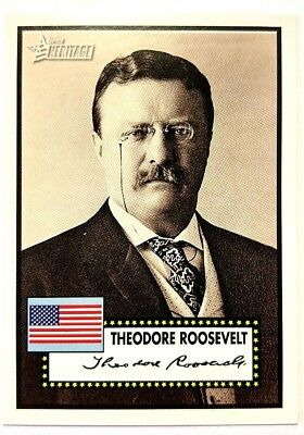 Topps American Presidents TCG - Theodore Roosevelt - (26th US President)