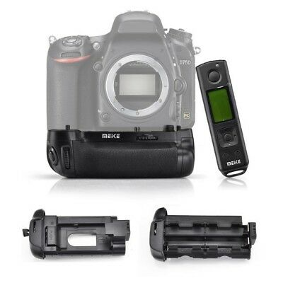 Meike MK-DR750 Built-In Wireless Control Battery Grip for Nikon D750 as MB-D16