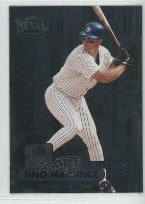 1998 Metal Universe #122 Tino Martinez New York Yankees Baseball Card