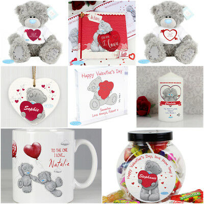 Personalised Name Me To You Valentines Day Gift Teddy Bear Candle Chocolate Mug