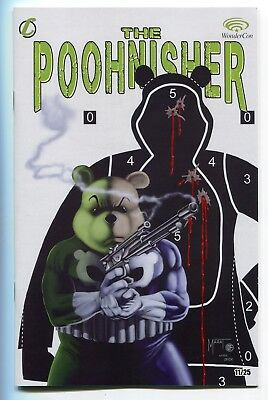 Do You Pooh The Poohnisher #1 Mike Zeck Punisher #3 Homage by Marat Mychaels /25