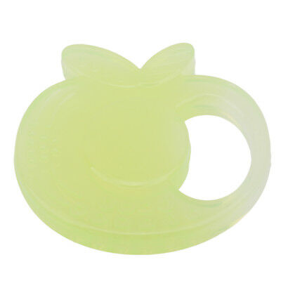 Lovely Baby Silicone Teething Ring Pendant Infant Chewing Teether Toy Safety Hot
