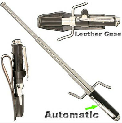 """21""""  Spring Powered Auto Opening Expandable Sword Self Defense