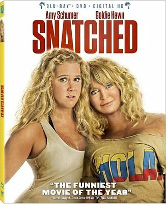 Snatched (Blu-ray & DVD, 2017, Includes Slipover Cover)