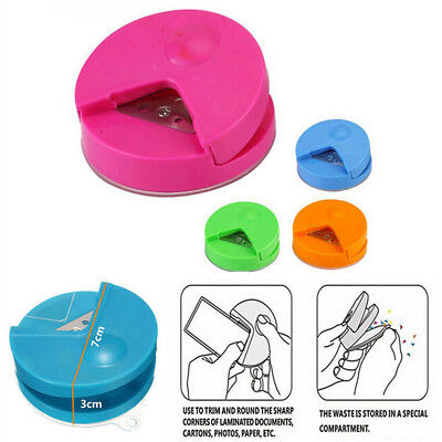 Hot  4mm Photo Cutter Tool Scrapbooking Paper Punch Card R4 Corner Rounder
