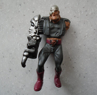 VTG 1995 MEGA HEROES Judge Dredd MEAN MACHINE Mega City's Most Wanted MINI FIG
