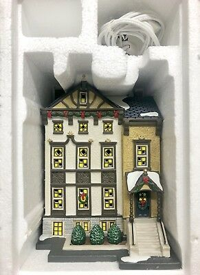 Dept 56 Christmas In City 7400 Beacon Hill 4030346 Numbered Limited Edition 2013