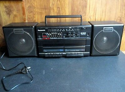 Panasonic Rx-Cw42 Portable Stereo Component System – Cassette Radio Boombox