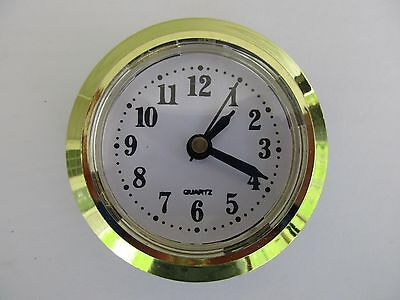 "Quartz 50mm (2"") Diameter Insert Clock Fit-Up Mechanism Standard Numbers"