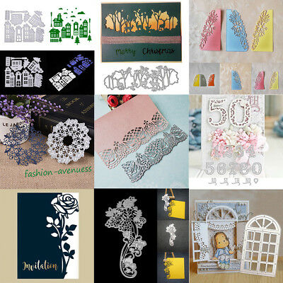 Many Styles Cutting Dies Stencil Scrapbooking Paper Card Embossing Mould Carfts