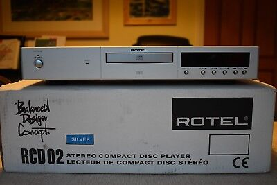 Rotel RCD-02 HDCD player