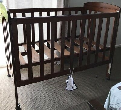 Baby Cot Sandford DL Brown Color with White Mattress - Price Reduced