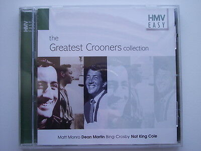 Various Artists - The Greatest Crooners Collection. CD Album. (L10)