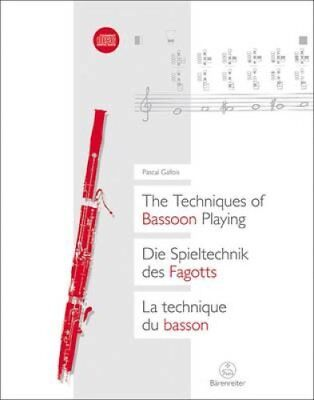 The Techniques of Bassoon Playing by Pascal Gallois 9783761818602