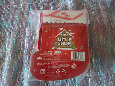 Coles Little Shop Christmas Edition Collector's Case New Sealed