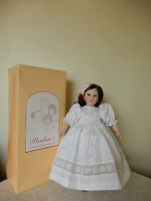 Pauline Jacobsen Limited Edition Philomene Doll No. 1069 Brown Hair 50 Cm Box