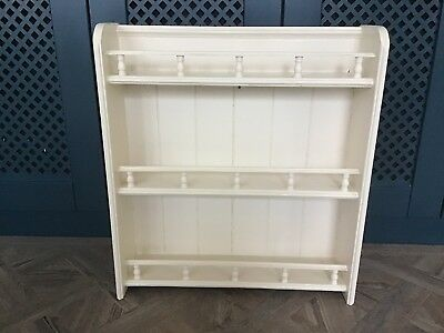 Vintage Victorian Pine Wall Shelving Unit Strong  Rustic Charm (Can Be Stripped)