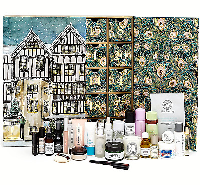 Liberty London Cosmetics Beauty Advent Calendar 2018 Products worth over £600