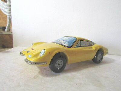 Famous First Yellow Dino Ferrari Decanter