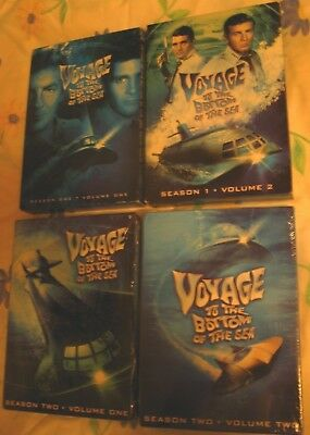 Voyage to the Bottom of the Sea (DVD) Complete Series Seasons 1 2 3 4 Region 1