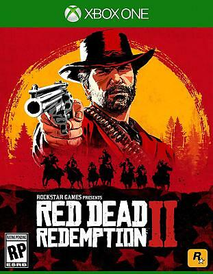 Red Dead Redemption II 2 XBOX ONE