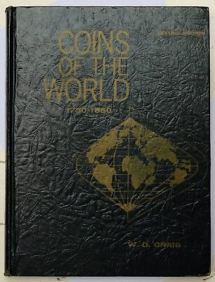 Craig, William D. Coins of the world. 1750-1850 (2nd ed.) 1971