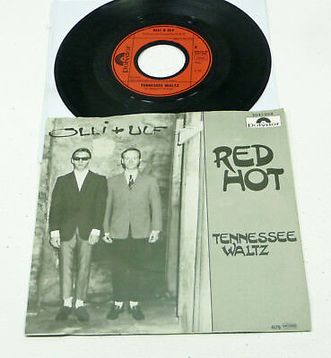 "OLLI + ULF ""Red Hot"" (aka Olli Dittrich) D 1978 Polydor M-/EX 7"" PS 45 Vinyl 70s"