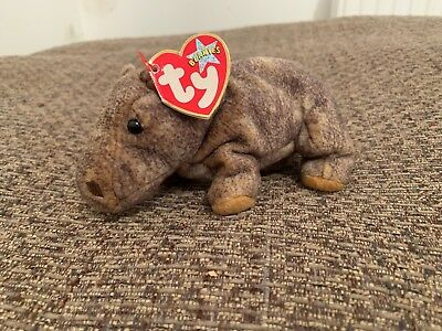 TY Beanie Baby - Tubbo the hippo, 2003 with tag