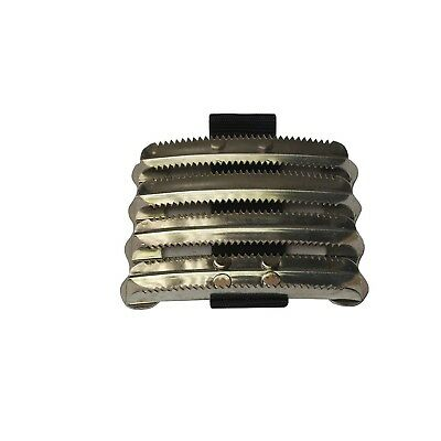 Bitz Metal Curry Comb Military PVC Strap (TL3844)