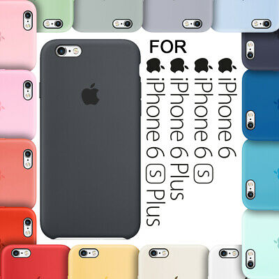 iPhone 6 iPhone 6 Plus iPhone 6s iPhone 6s Plus Silicone Case Cover - NEW BOXED