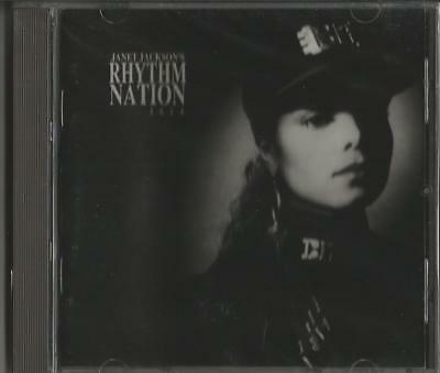 Rhythm Nation 1814 Janet Jackson CD New 1989 A&M USA Pledge State Of The World