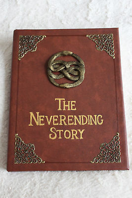 Handmade 'The Neverending Story' book replica/movie prop, A4 art/sketch book.