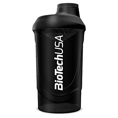BioTech USA Wave Shaker 700 ML, nero (d4z)
