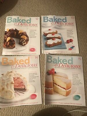5 Baked & Delicious Magazines And 2 Folders Cake Decorating Sugar Craft