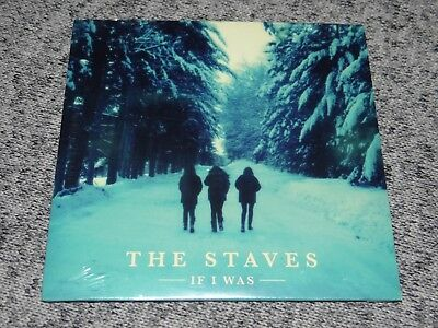 THE STAVES If I Was RARE U.S. Advance PROMO CD English Acoustic Folk Sisters NEW