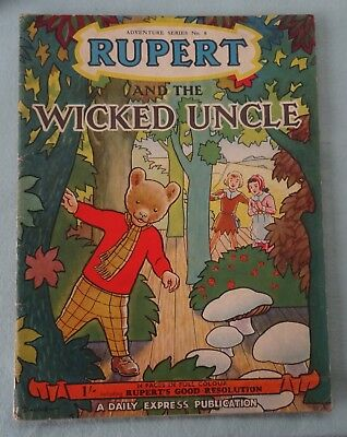 Rupert and the Wicked Uncle  Rupert the Bear Adventure  Daily Express