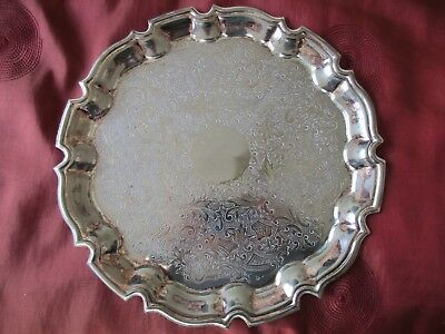 Silver Plated Cavalier Plate 26cm