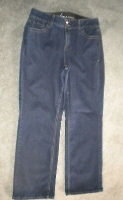 Lane Bryant Straight Leg Tighter Tummy Technology Jeans Size 16 Reg.