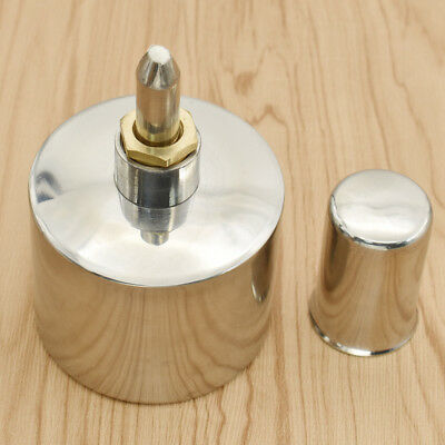 200ml Stainless Steel Alcohol Burner Lamp with wick for Laboratory experiments