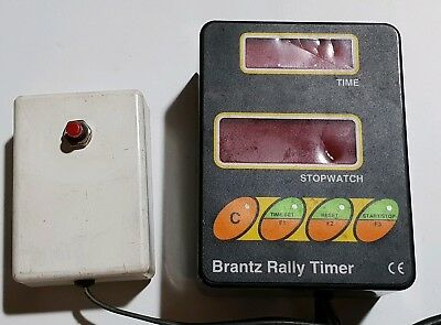 Brantz Rally Timer clock/stop watch. Rally/competition use.