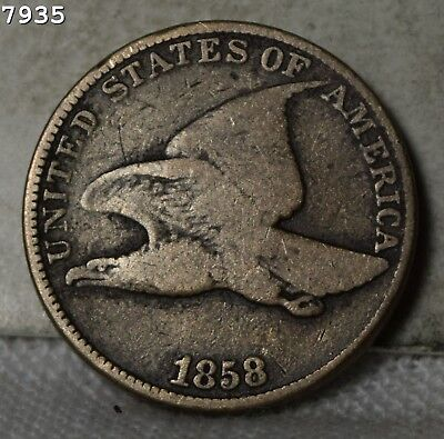 1858-LL Flying Eagle Cent *Free S/H After 1st Item*