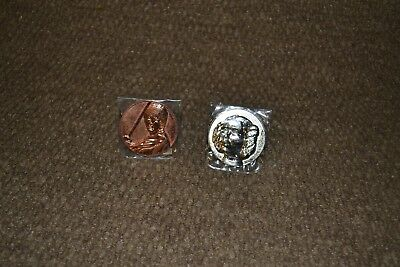 STAR WARS 2005 California Lottery COINS Luke and Leia
