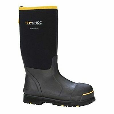 Dryshod Mens Cold Weather Steel Toe Insulated Work Boots Sizes 7 - 16 Muck Style