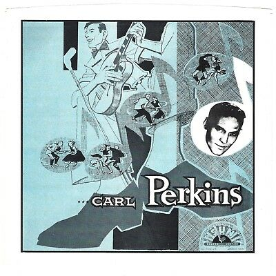 CARL PERKINS - Sun Era Fantasy Sleeve  (picture sleeve only) - NM