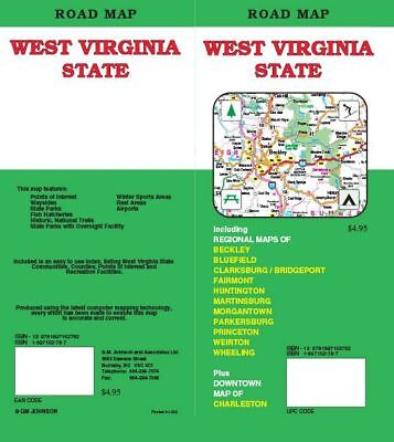 State Map of West Virginia, by GMJ Maps
