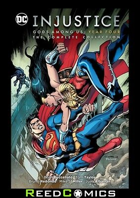INJUSTICE GODS AMONG US YEAR FOUR COMPLETE COLLECTION GRAPHIC NOVEL (328 Pages)
